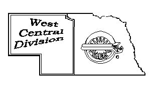 Nebraska West Central Division Logo